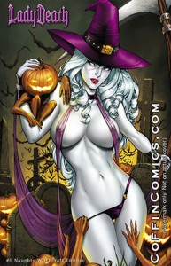 Lady Death #0 Naughty Witchcraft Edition
