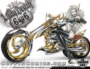 Lady Death: Retribution #1 Death Rider Edition