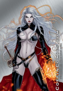 "Lady Death – ""Power"" Metallicard"