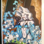 Jensen Original (Hughes) – cover from Lady Death: The Crucible #1/2