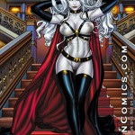 Lady Death: Naughty Majestic – 11 * 17 Print