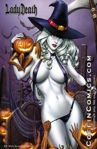 Lady Death #0 Witchcraft Edition
