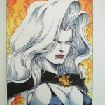 Jensen Original (Hughes) – cover from Lady Death: The Reckoning (Revised)