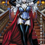 Lady Death: Majestic – 11 * 17 Print