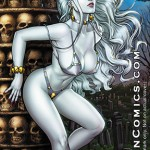 Lady Death: Moon Glow Ivory – 11 * 17 Print