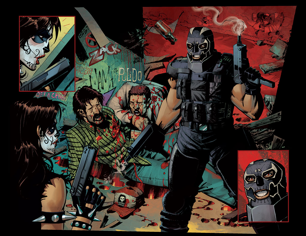 INTERVIEW WITH LA MUERTA #1: VENGEANCE WRITER MIKE MACLEAN